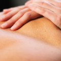 Hands on complementary massage